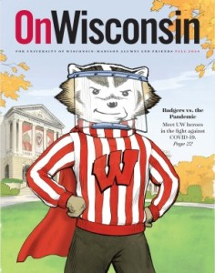 Cover of On Wisconsin Magazine, Fall 2020